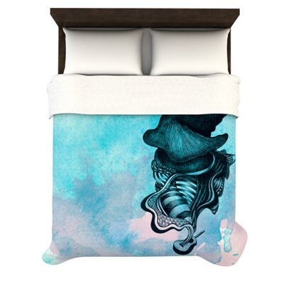 KESS InHouse Elephant Guitar III Duvet Collection