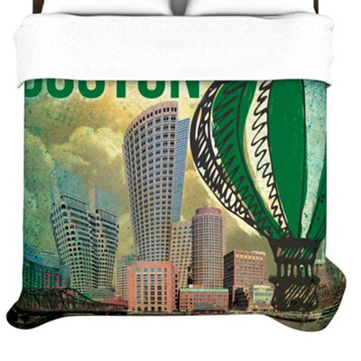 KESS InHouse Boston Duvet