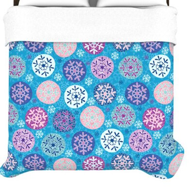 KESS InHouse Floral Winter Duvet
