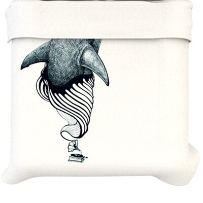KESS InHouse Shark Record Duvet