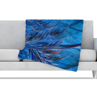 KESS InHouse Tropical Fleece Throw Blanket