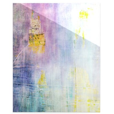 KESS InHouse Color Grunge Floating Art Panel