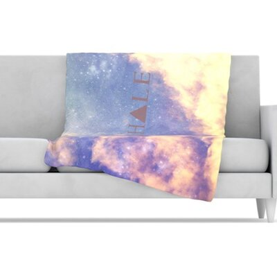 KESS InHouse Exhale Fleece Throw Blanket