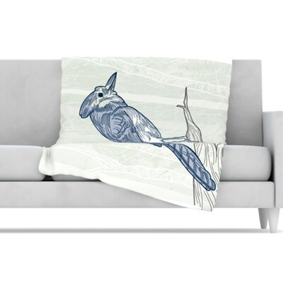 KESS InHouse Jay Fleece Throw Blanket