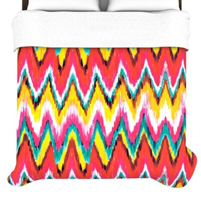 KESS InHouse Painted Chevron Duvet Collection