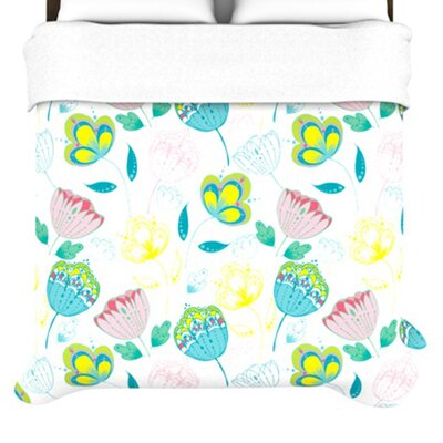 KESS InHouse Indie Floral Duvet Collection