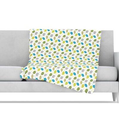KESS InHouse Tangled Microfiber Fleece Throw Blanket