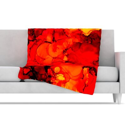 KESS InHouse Family Photos II Microfiber Fleece Throw Blanket