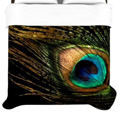 KESS InHouse Peacock Duvet Collection