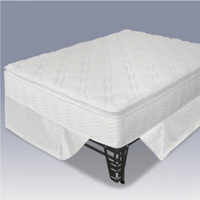 "OrthoTherapy 13"" Euro Box Top iCoil Mattress and Steel Foundation Set"