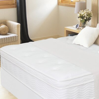 "Sleep Revolution 13"" Euro Box Top iCoil Mattress and Steel Foundation Set"