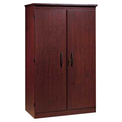 South shore traditional jefferson cherry two door floor for Wayfair kitchen cabinets