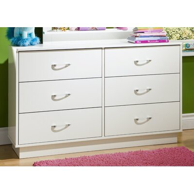 South Shore Logik Double 6-Drawer Dresser