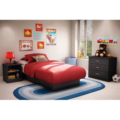 South Shore Libra Twin Platform Bedroom Collection