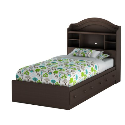South Shore Summer Breeze Chocolate Captain Bedroom Collection