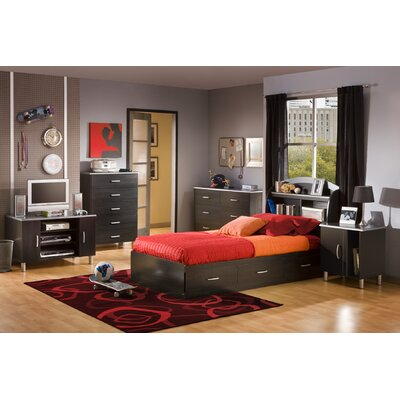 South Shore Lexington Twin Mates Bedroom Collection