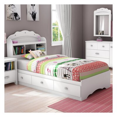 South Shore Tiara Twin Mates Bed