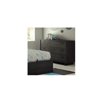 South Shore Fynn 6 Drawer Dresser