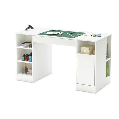 south shore crea craft table reviews wayfair. Black Bedroom Furniture Sets. Home Design Ideas