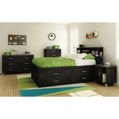 South Shore Lazer Full Captain Kids Bedroom Collection