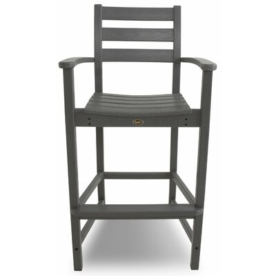 Trex Outdoor Outdoor Monterey Bay Barstool with Cushion