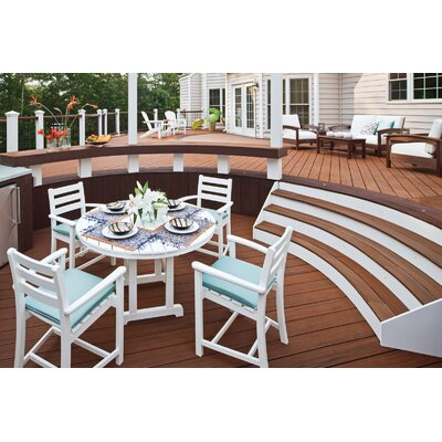 Trex Outdoor Monterey Bay Round Dining Table