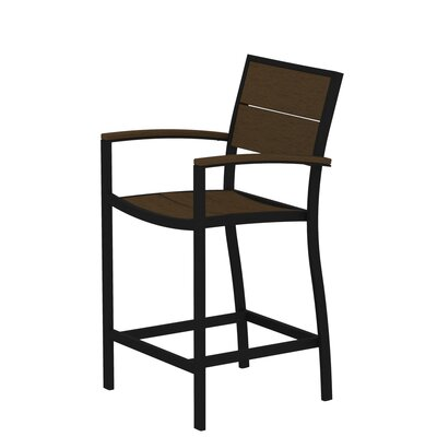 Trex Outdoor Trex Outdoor Surf City Counter Height Arm Chair