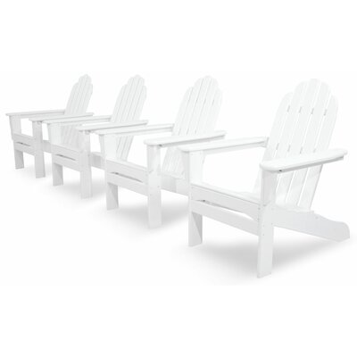 Ivy Terrace Ivy Terrace Classics 4 Piece Adirondack Seating Group