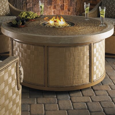 Tommy Bahama Outdoor Canberra Surf and Sand Gas Fire Pit