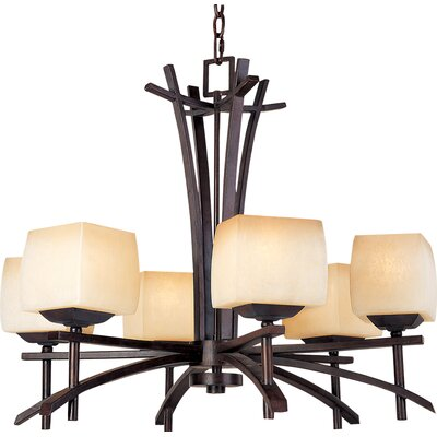 Maxim Lighting Asiana 6 Light Chandelier