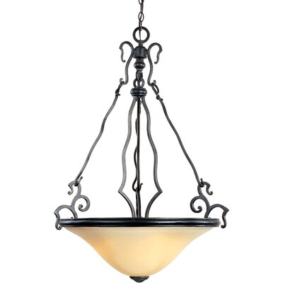 Maxim Lighting Castello 3 Light Inverted Pendant