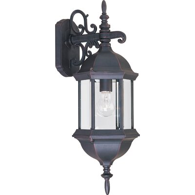Maxim Lighting Builder Cast Outdoor Wall Lantern