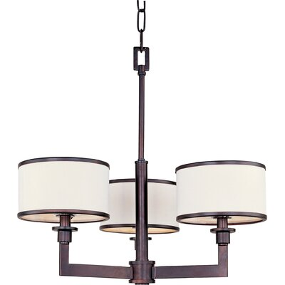 Wildon Home ® Inque 3 - Light Mini Chandelier