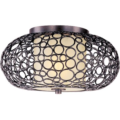 Maxim Lighting Meridian 1 Light Semi Flush Mount