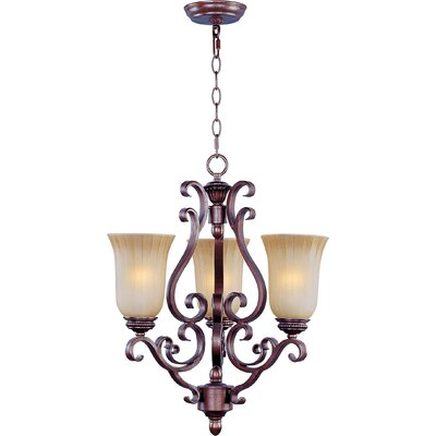 Maxim Lighting Provence 3 Light Chandelier
