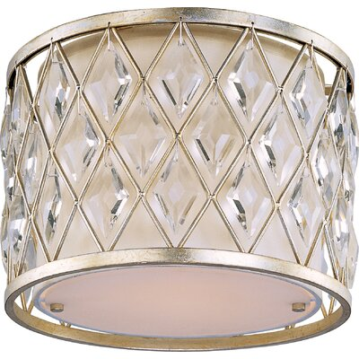Maxim Lighting Diamond 1 Light Flush Mount