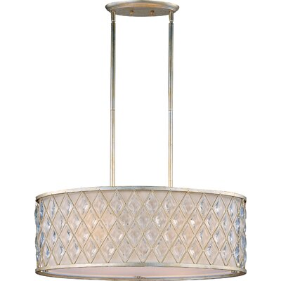 Maxim Lighting Diamond 4 Light Drum Pendant
