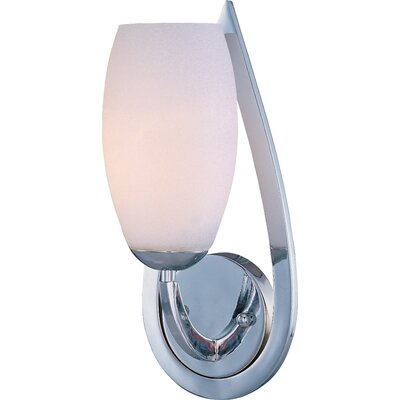 Maxim Lighting Elan One Light Wall Sconce in Polished Chrome