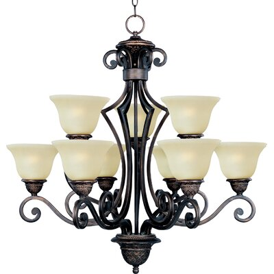 Maxim Lighting Symphony 9 Light Chandelier