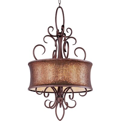 Maxim Lighting Alexander 5 Light Drum Pendant