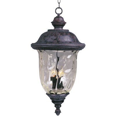 Maxim Lighting Carriage House DC 3 Light Outdoor Hanging Lantern