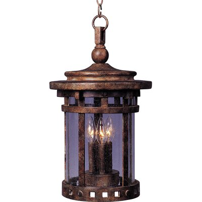 Maxim Lighting Santa Barbara VX 3 Light Outdoor Hanging Lantern