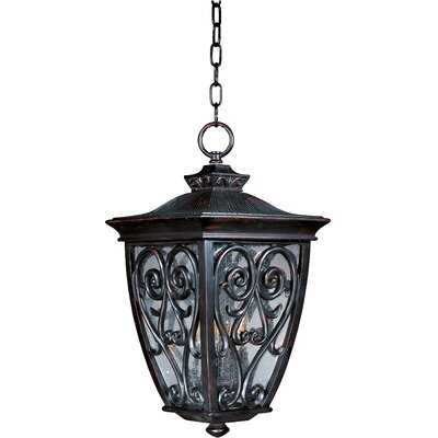 Maxim Lighting Newbury VX 3 Light Outdoor Hanging Lantern