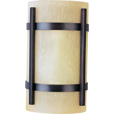 Maxim Lighting Luna  Wall Sconce in Oil Rubbed Bronze - Energy Star
