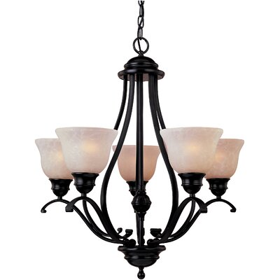Linda 5 Light Chandelier - Energy Star