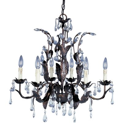 Grove 6 Light Candle Chandelier