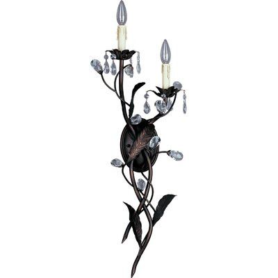Maxim Lighting Grove 2 Light Large Candle Wallchiere