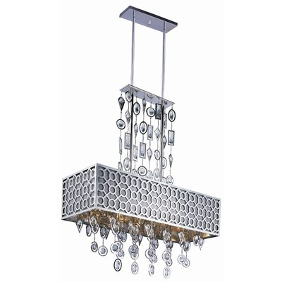 Maxim Lighting Symmetry 8 Light Square Pendant