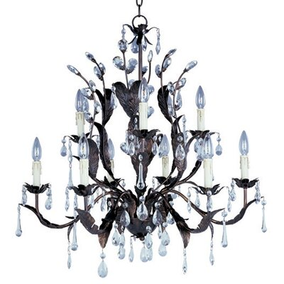 Grove 9 Light Candle Chandelier