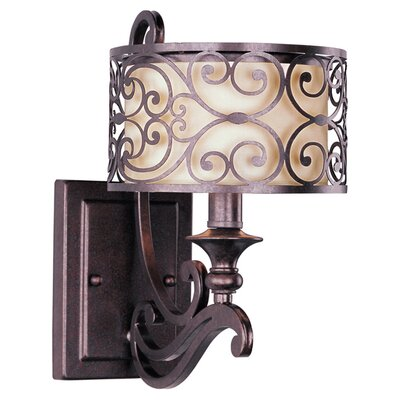 Maxim Lighting Mondrian 1 Light Wall Sconce